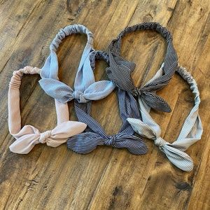Lot of 5 Headbands with Bows